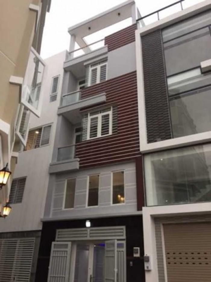 Bán nhà 3 lầu tuyệt đẹp hẻm  6m Nơ Trang Long, P.12, Q.Bình Thạnh.