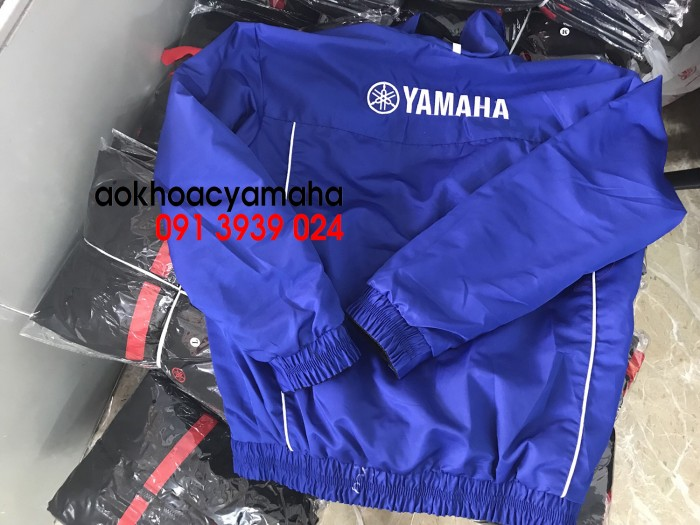 Sỉ lẻ áo khoác Yamaha 2 mặt, áo khoác Yamaha đỏ đen11