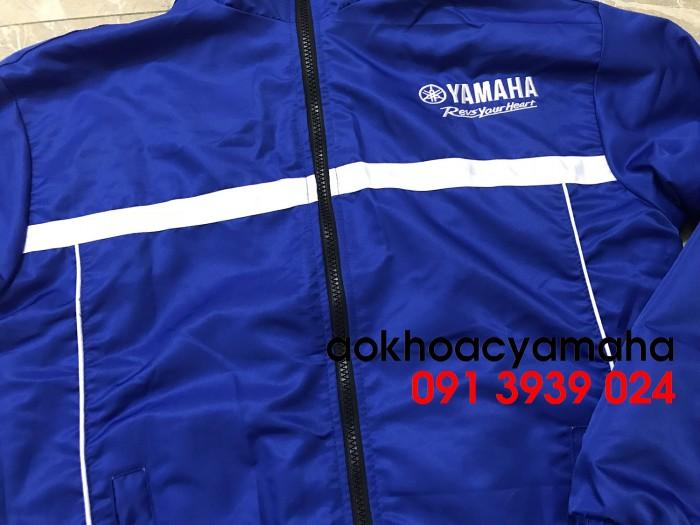 Sỉ lẻ áo khoác Yamaha 2 mặt, áo khoác Yamaha đỏ đen8