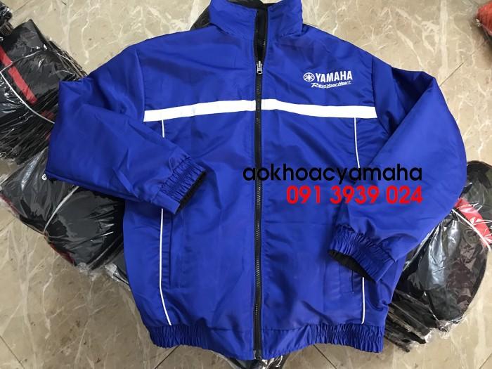 Sỉ lẻ áo khoác Yamaha 2 mặt, áo khoác Yamaha đỏ đen9