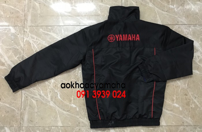 Áo khoác Yamaha bán lẻ, áo khoác đỏ đen Yamaha14
