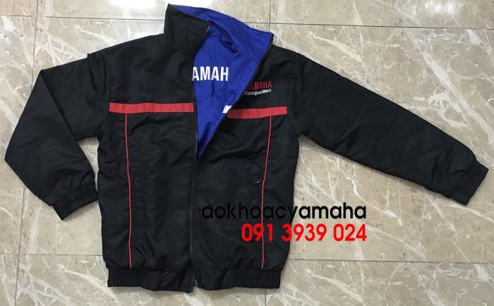 Áo khoác Yamaha bán lẻ, áo khoác đỏ đen Yamaha13