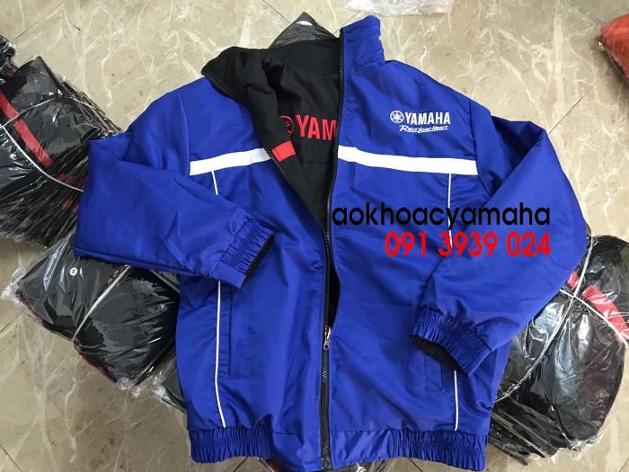Áo khoác Yamaha bán lẻ, áo khoác đỏ đen Yamaha12