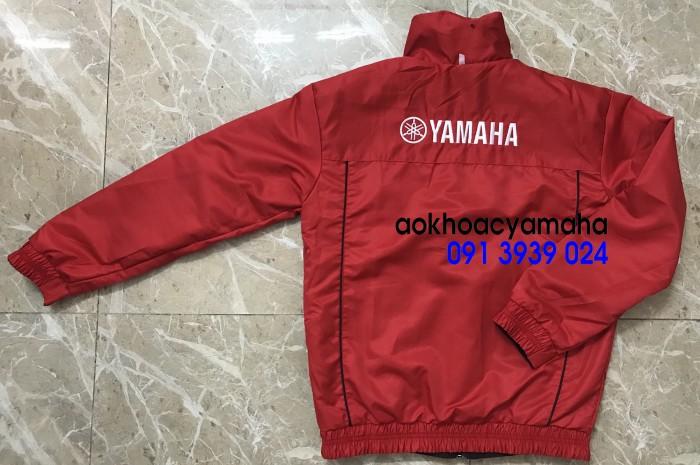 Áo khoác Yamaha bán lẻ, áo khoác đỏ đen Yamaha9