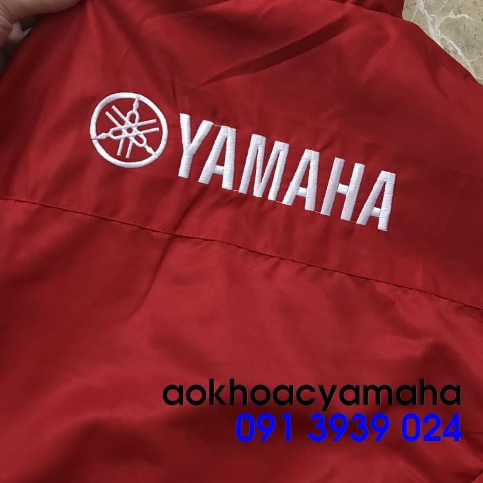 Áo khoác Yamaha bán lẻ, áo khoác đỏ đen Yamaha1