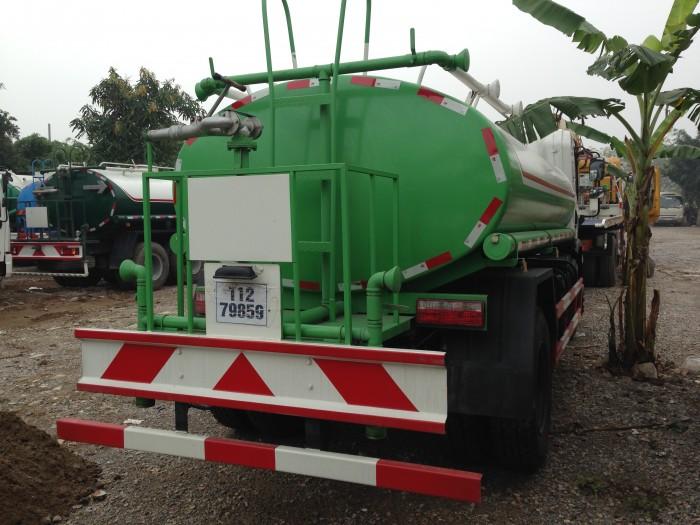 Xe phun nước rửa đường 9m3 HOWO
