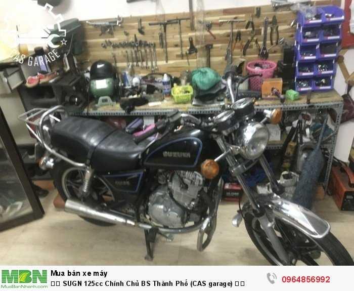 ✅✅ SUGN 125cc Chính Chủ BS Thành Phố (CAS garage) ✅✅