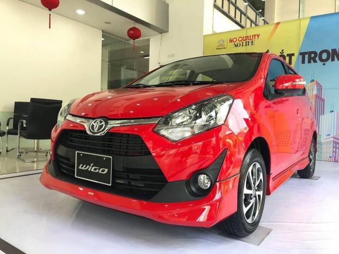 Bán xe Toyota Wigo, nhập khẩu nguyên chiếc, nhận xe chỉ với 144 triệu đồng