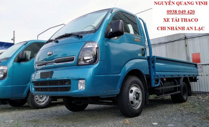 Xe Tải Kia K250 - Euro 4 - 2018 Tại Thaco Trường Hải - Tải Trọng 2,49 Tấn - Bán Xe Trả Góp