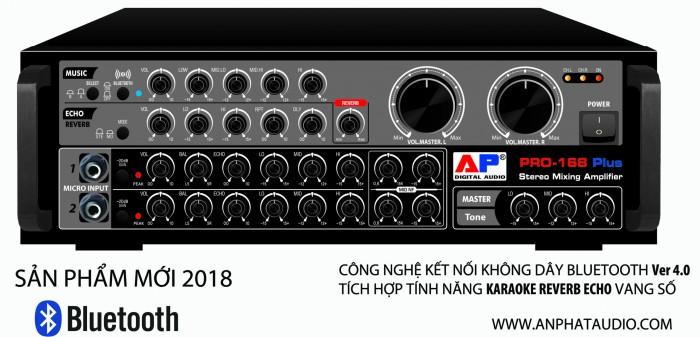 Ampli Ap Audio Pro - 168 Plus Bluetooth