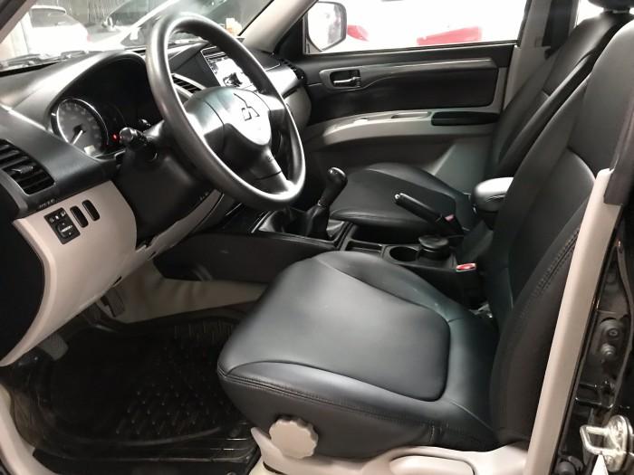 Bán Mitsubishi Pajero Sport 2.5MT màu đen VIP số sàn máy dầu sản xuất 2014 biển Sài Gòn đi đúng 53000km 4