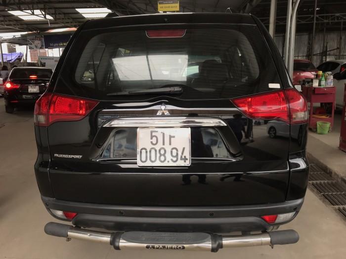 Bán Mitsubishi Pajero Sport 2.5MT màu đen VIP số sàn máy dầu sản xuất 2014 biển Sài Gòn đi đúng 53000km 1