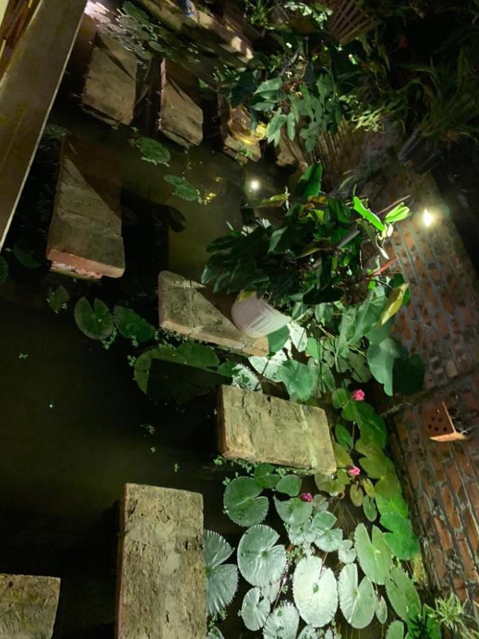BIỆT THỰ tân cổ Huế DUY NHẤT đẹp mỹ miều bể bơi, ao cá, nhà vườn 140m2, 4T Hoàng Mai