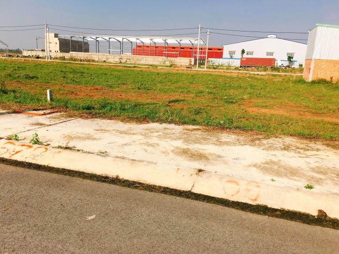Giá 645tr,DT98m2 bán gấp lô đất đường Đinh Đức Thiện,gần chợ Rạch Kiến
