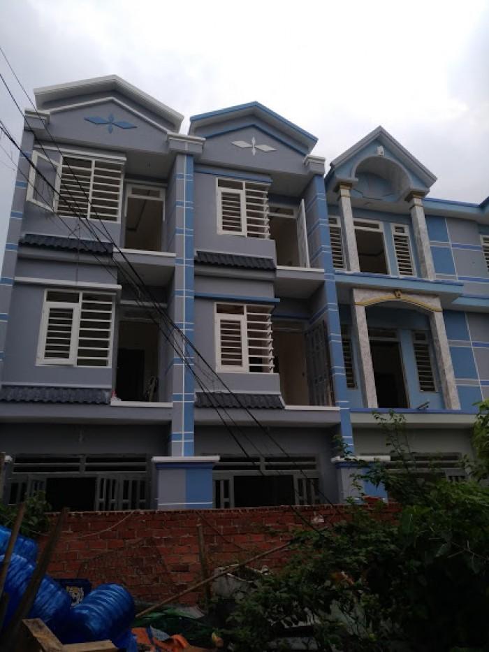 Nhà mới 1 trệt 2 lầu đường số 6 BHH B Bình Tân