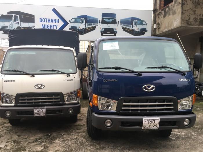 Xe tải hyundai mighty đô thành 8 tấn thùng dài 5m, trả trước 120tr lấy xe, nhiều quà tặng, khuyễn mãi hấp dẫn, tặng thuế trước bạ 14 triệu