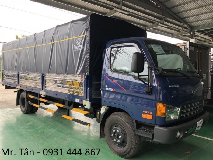 Xe tải Hyundai HD120SL tải trọng 8 tấn, thùng dài 6m3 giá cực tốt, nhiều quà tặng, khuyến mãi hấp dẫn, tặng ngay 14tr thuế trước bạ, trả trước 120tr giao xe ngay 4
