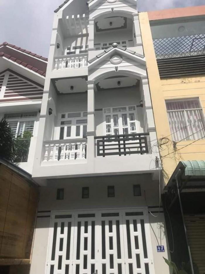 Nhà 1 trệt 2 lầu mặt tiền đường Lê Thị Kim