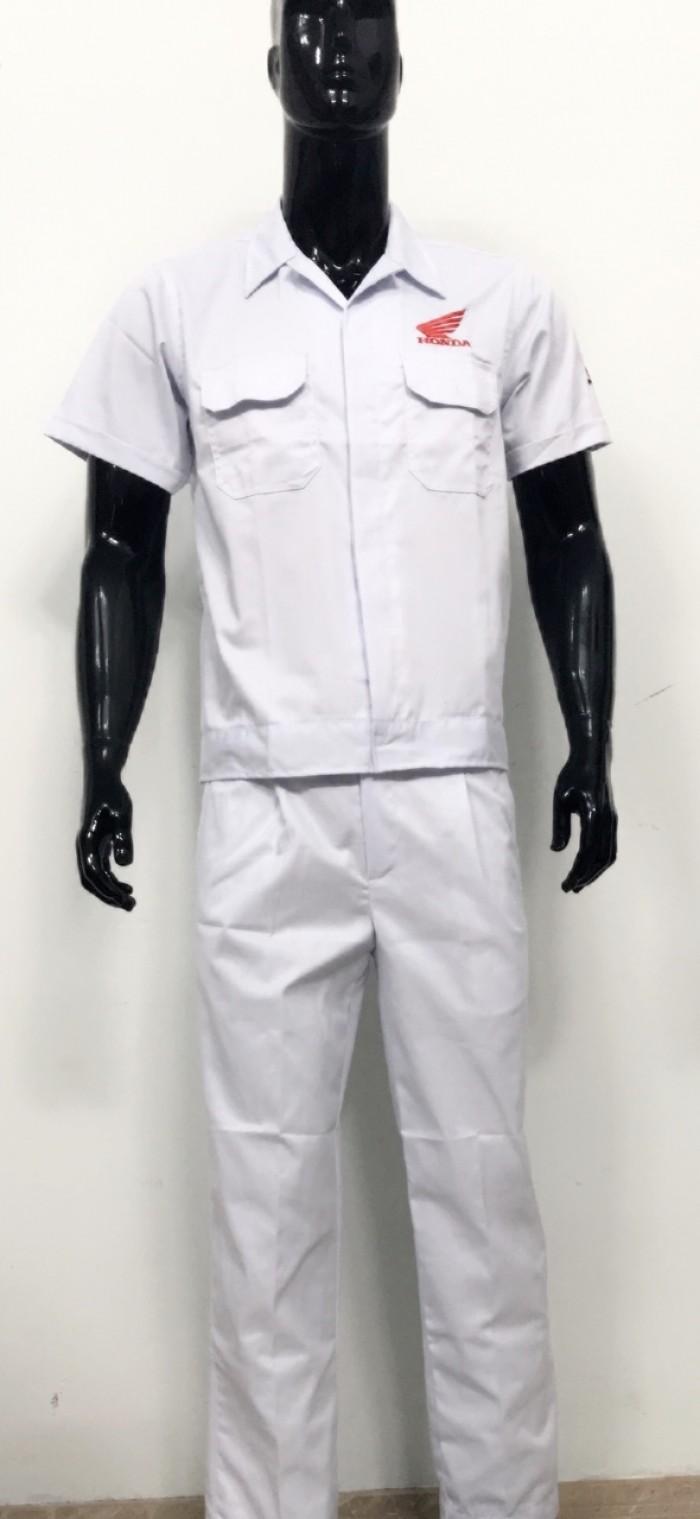 Đồng phục thợ Honda, đồng phục xe máy giá rẻ15