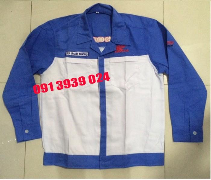 Đồng phục thợ Honda, đồng phục xe máy giá rẻ13