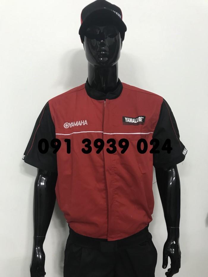 Đồng phục thợ Honda, đồng phục xe máy giá rẻ11