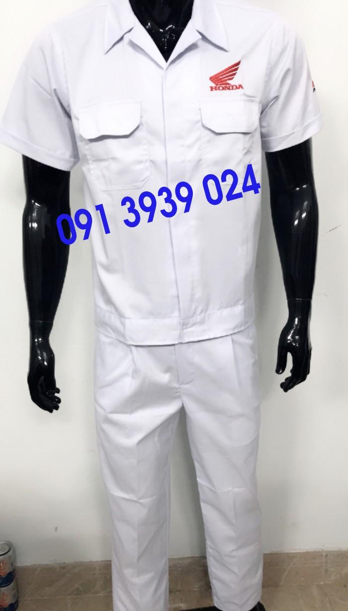 Đồng phục thợ Honda, đồng phục xe máy giá rẻ8