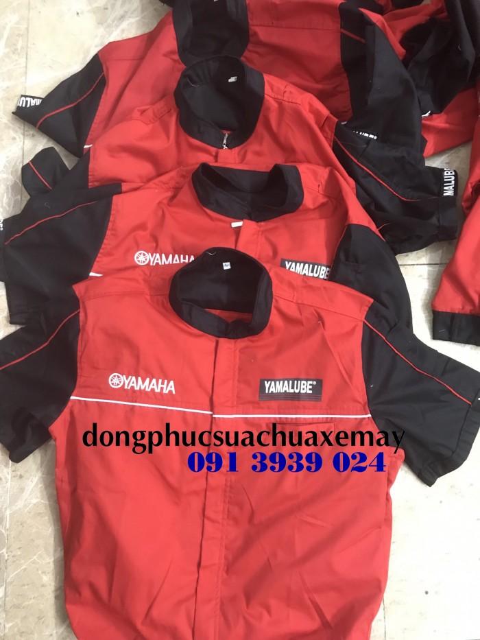 Đồng phục thợ Honda, đồng phục xe máy giá rẻ6