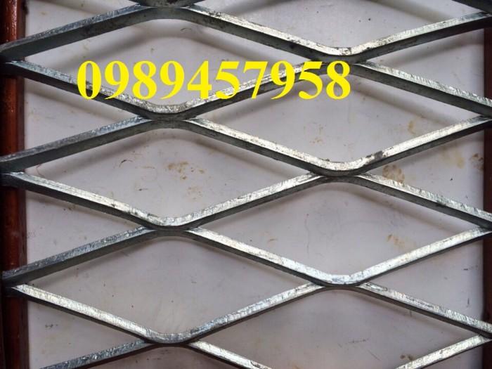 Lưới dập giãn, lưới kéo giãn, lưới hình thoi, lưới mắt cáo 30x60x3ly, 45x90x3ly12