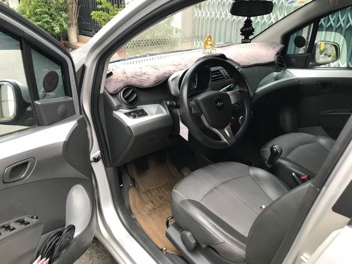 Chevrolet Spark LT 1.2 màu bạc 2016 số sàn xe gia đình chính chủ.