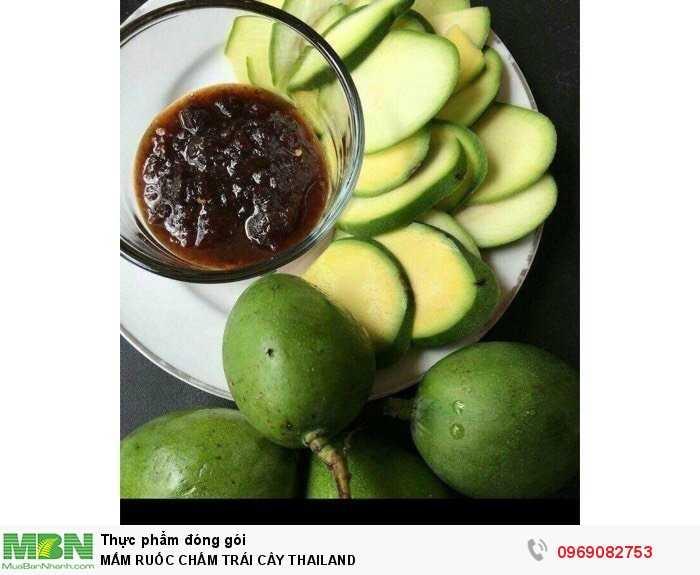 Mắm Ruốc Chấm Trái Cây Thailand