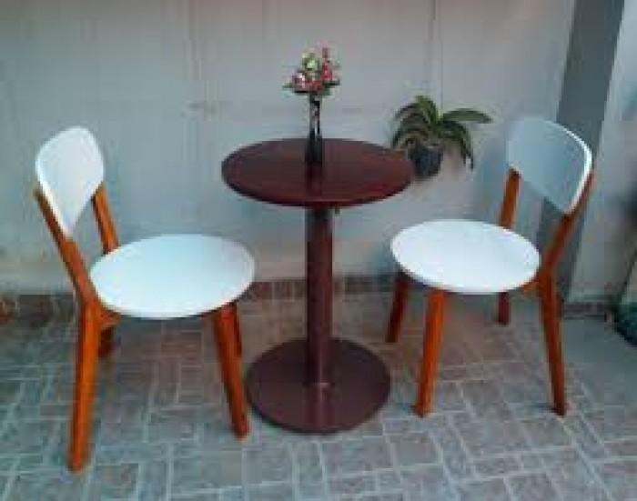 bàn ghế gổ