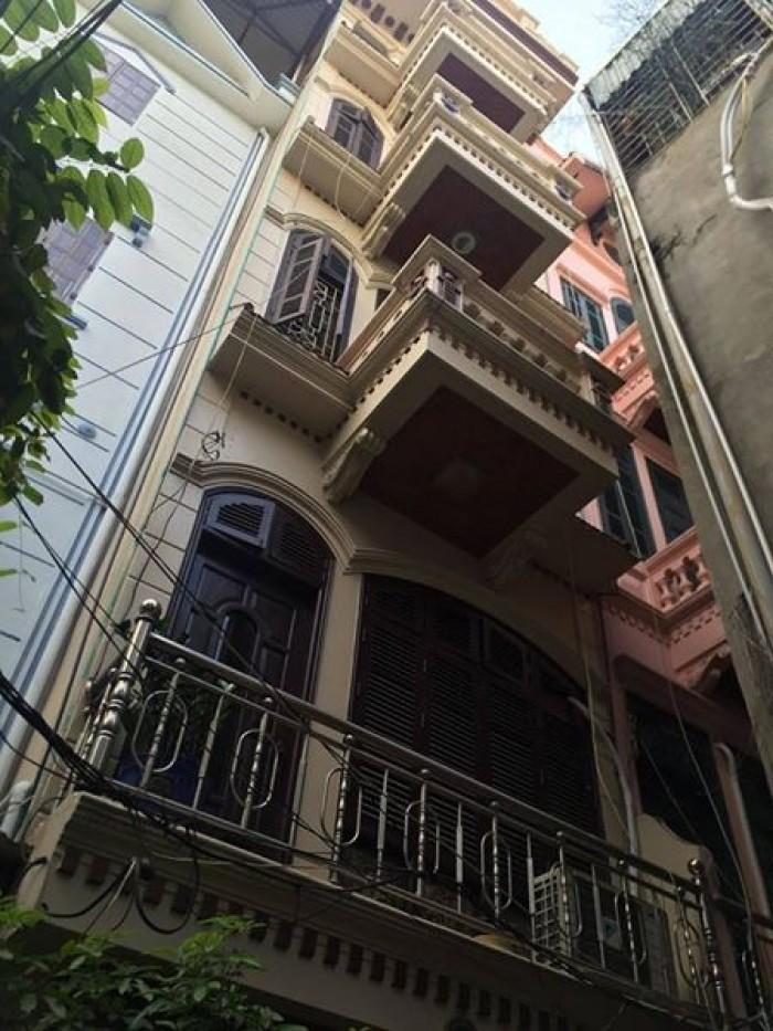 Thái Thịnh, 40m2, nhà 4 tầng, ô tô nhỏ đỗ cửa