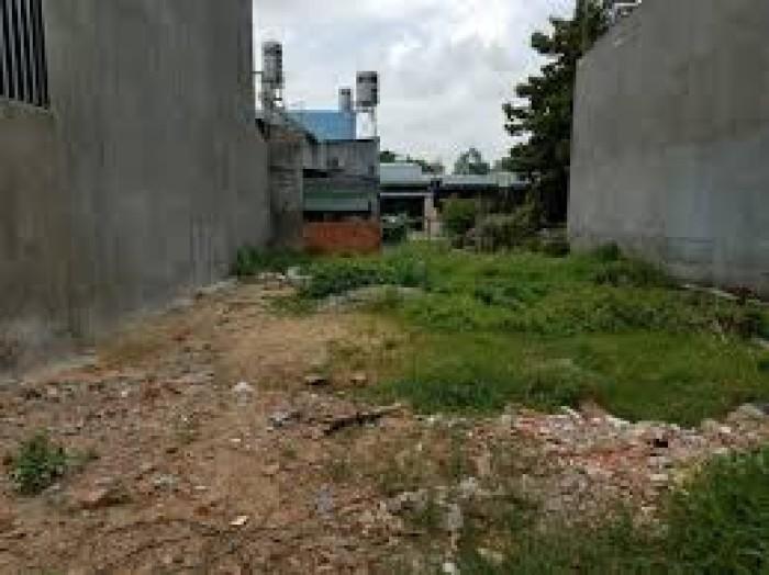 Bán đất MT 10m nằm gần Trần Văn Gìau, Bình Chánh