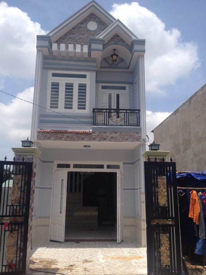 Bán nhà trung tâm Thủ Dầu Một 1 trệt 1 lầu