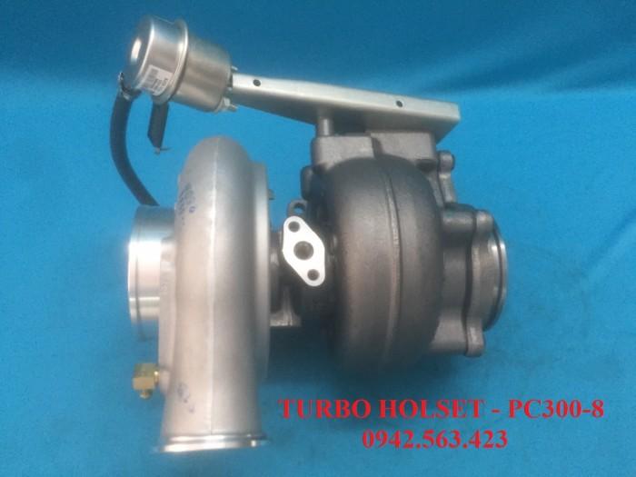 Turbo tăng áp lắp Komatsu PC300-8 1
