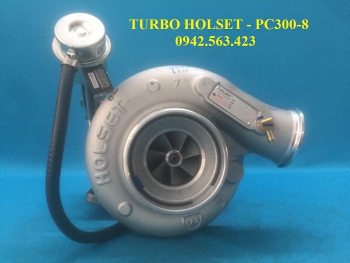 Turbo tăng áp lắp Komatsu PC300-8 0