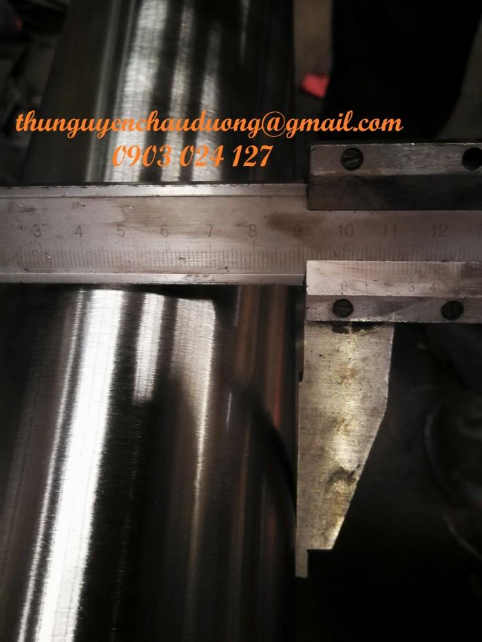 Ống thép không gỉ / inox SUS201, SUS304, SUS316L