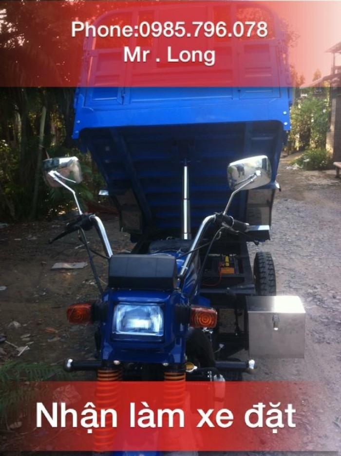 Bán xe lôi ba bánh Nam Định T&T FHUSHI DA chính hãng