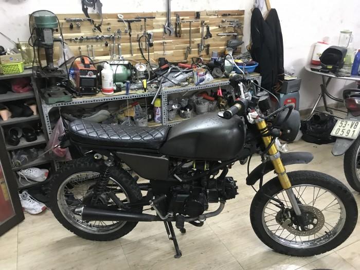 Win Liên Doanh 110cc lên Tracker (CAS garage)