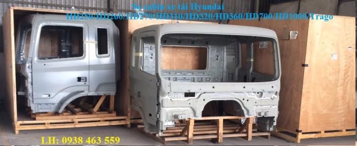 Sọ cabin xe tải hyundai hd270, hd320, hd700, hd1000 đầu cabin xe hyundai