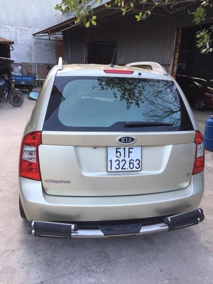 Bán Kia Carens EX 2.0MT màu vàng cát số sàn sản xuất 2011 biển Sài Gòn