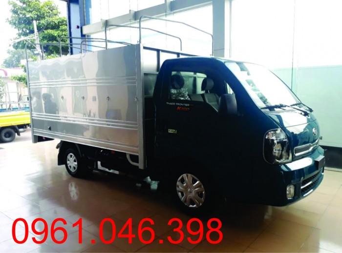 Xe tải 1T9 KIA K200 giá 343 triệu, hộ trợ trả góp 75%