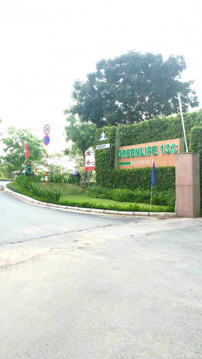 Bán đất nền KDC Greenlife 13C Phong Phú, Bình Chánh, 85m2, 36tr/m2, hướng ĐB, sổ hồng