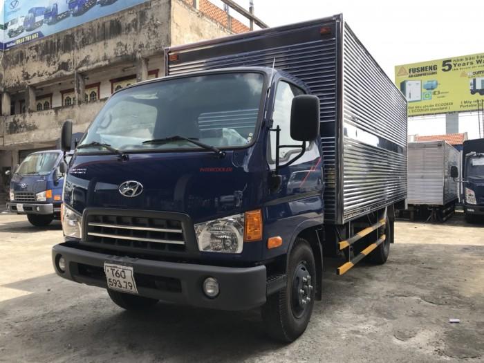 Giá xe tải Hyundai Mighty 8 tấn thùng kín inox, trả trước 100 triệu giao luôn xe tại Hyundai Vũ Hùng - Hotline: 0933638116 (MrHùng 24/24)