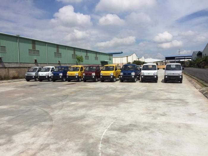 Xe tải nhẹ thùng kín 900kg | trợ lực tay lái , kính chỉnh điện ,máy lạnh | Xe tải KenBo 900kg thùng kín