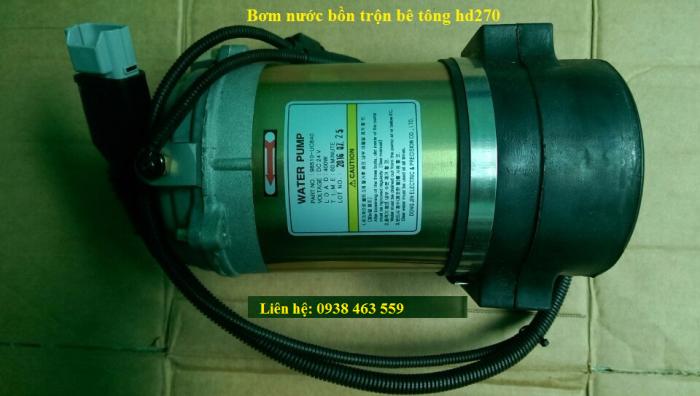 Bơm nước xe bồn trộn hd270