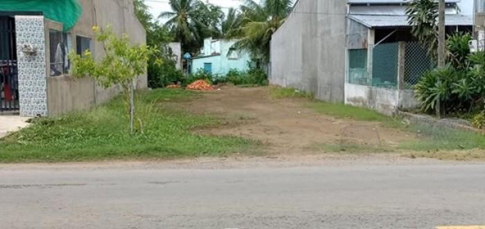 Bán gấp 2 miếng đất gần chợ Quận 8 dt 252m2 thổ cư mặt tiền đường. Sổ hồng riêng.