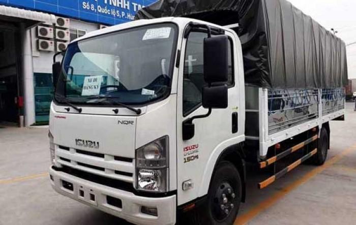 Xe tải Isuzu 3 tấn 5, thùng dài, trả trước 70 triệu có ngay xe tại nhà 3