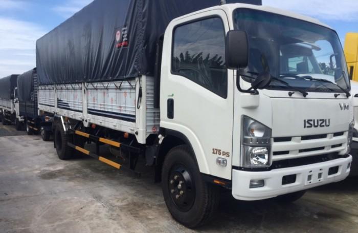 xe tải isuzu VM thùng dài 7m, tải 8.2 tấn , trả góp 90% giá trị xe 6