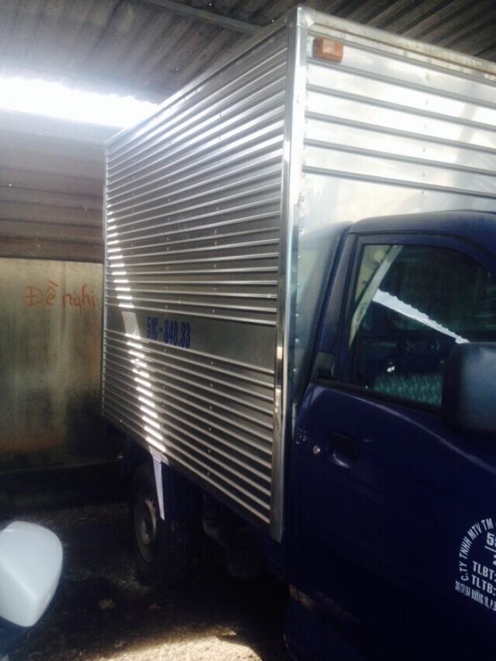 Kẹt tiền bán chiếc xe tải Suzuki Sx 2010 xe cty 550kg  số sàn máy dầu 3